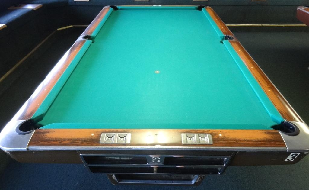 Rusty Billiards - Brunswick century pool table