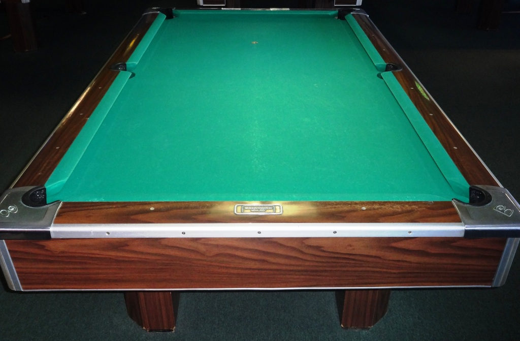 Rusty Billiards - Brunswick diamond pool table